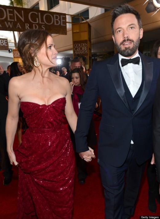 With Husband Ben Affleck