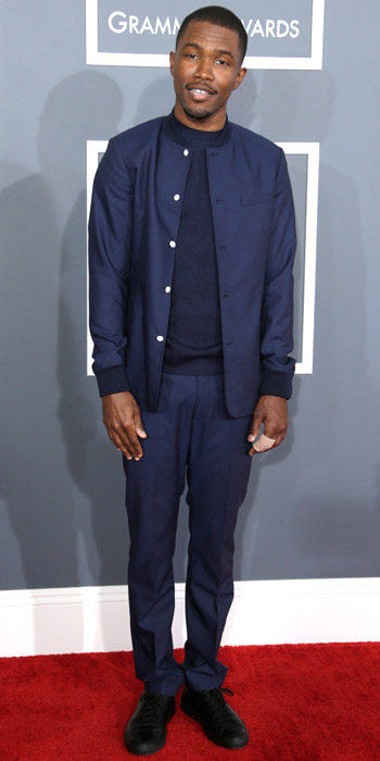 021013-frank-ocean-350 Frank Ocean in a bomber jacket and matching pants blue navy
