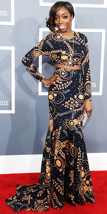 021013-grammys-estelle-350 two piece design she designed herself never looked better