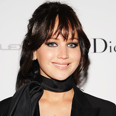Jennifer Lawrence Dyes Hair Jet Black For Hunger Games Role | Personal